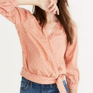 Madewell Coral Star Scatter Wrap